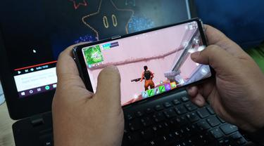 Gim Fortnite di Galaxy Note 9