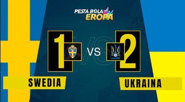 Berita video motion grafis, hasil pertandingan babak 16 besar Euro 2020 antara Timnas Ukraina melawan Swedia.