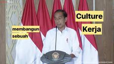 Presiden Joko Widodo berikan pengarahan pada Menteri BUMN Erick Thohir dan para Direktur Utama BUMN. Dalam kesempatan ini Jokowi sempat sebut jika BUMN-BUMN yang lalu terlalu enak sekali.