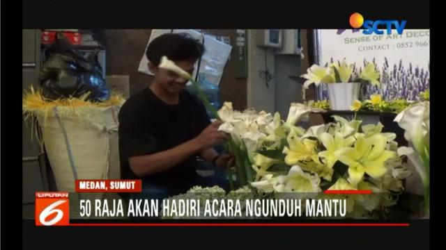 Dekorasi pada prosesi ngunduh mantu Jokowi ini nanti akan didominasi oleh nuansa Tapanuli Selatan.