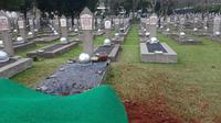 Jenazah Ani Yudhoyono akan dimakamkan di dekat makan istri mantan Presiden BJ Habibie, Ainun Habibie. (Liputan6.com/Yopi Makdori)