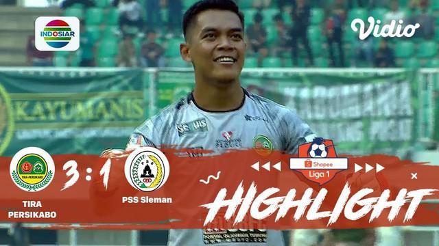 Laga lanjutan Shopee Liga 1, Tira Persikabo VS PSS Sleman berakhir imbang dengan skor 3-1 #shopeeliga1