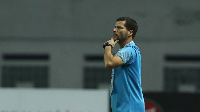 Pelatih Sriwijaya FC, Osvaldo Lessa (Liputan6.com / Helmi Fithriansyah)