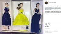 Rayakan 10 tahun berkarya di industri fashion, Jason Wu meluncurkan koleksi boneka terbaru. (Foto: instagram @manhattandolls)