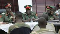 Para serdadu tersebut dituding menolak membantu upaya perebutan tiga kota yang diduduki Boko Haram pada Agustus lalu.
