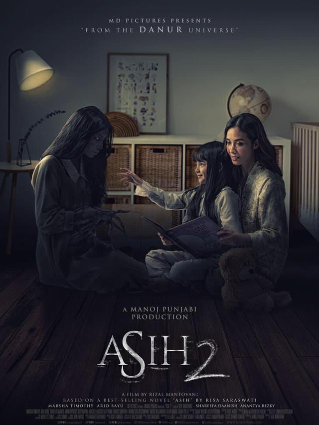 Film Asih 2 Lebih Seram Daripada yang Pertama - ShowBiz Liputan6.com
