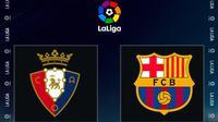 La Liga - Osasuna Vs Barcelona (Bola.com/Adreanus Titus)