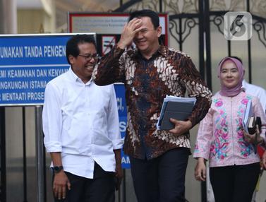 Bersama Dirut Pertamina, Ahok Temui Jokowi di Istana