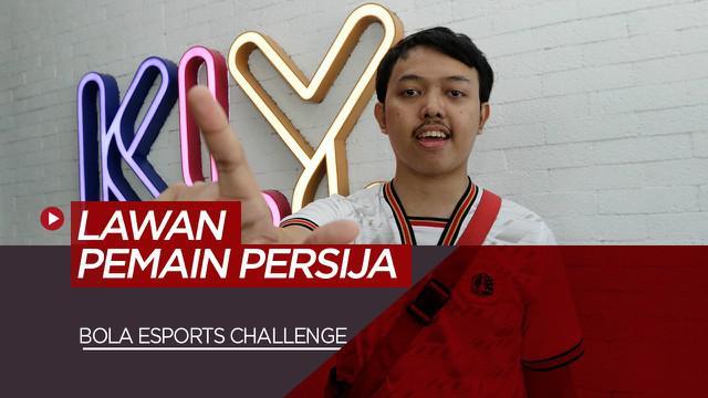 Berita Video Dua The Jakmania Akan Hadapi Rezaldi Hehanussa dan Andritany Ardhiyasa di BOLA Esports Challenge
