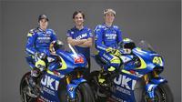 Suzuki menggunakan nama Suzuki Ecstar di balapan moto GP 2015 setelah absen 3 musim.
