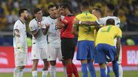 Brasil vs Argentina. (AP Photo/Ricardo Mazalan)