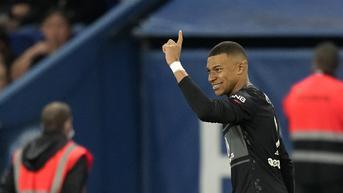 FOTO: Gol Kylian Mbappe Bawa PSG Taklukkan Angers