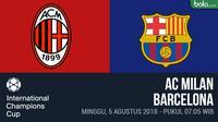 ICC 2018_AC Milan Vs Barcelona (Bola.com/Adreanus Titus)
