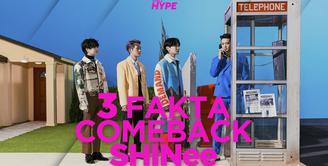SHINee kembali dengan album terbarunya Don't Call Me. Bagaimana info selengkapnya? Yuk, kita cek video di atas!