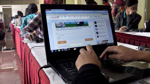 Sistem Tes Seleksi CPNS Berbasis On-line, Disimulasikan