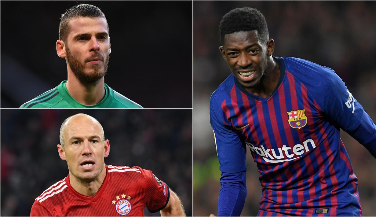 Bola.com akan membahas pesepak bola yang akan mengalami turun rating di pembaharuan FIFA 2019. Banyak faktor yang menyebabkan hal tersebut mulai dari jarangnya diberikan jatang bermain sampai cedera. (Kolase Foto AFP)