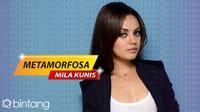 Metamorfosa Mila Kunis. (DI: Nurman Abdul Hakim/Bintang.com)