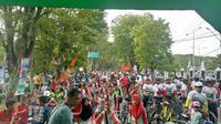 Kegiatan Sepeda Nusantara 2018 hadir di Demak, Jawa Tengah (Jonathan Pandapotan)