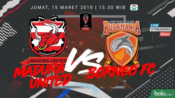 Prediksi Madura United Vs Borneo FC: Demi Reputasi