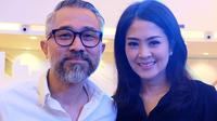 Lukman Sardi dan  Pricillia Pullunggono (Sumber: Instagram/@lialukman)