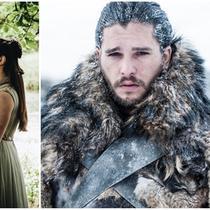 Jon Snow ketika bayi dan sekarang (Sumber: Twitter/eliesaaab)