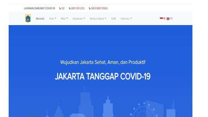 Cek Fakta nomor telepon Satgas Covid-19 DKI Jakarta
