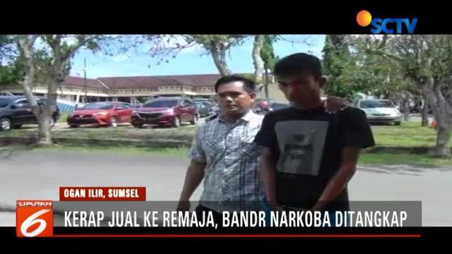Mudrik ditangkap setelah sejumlah warga di Desa Tanjung Gelam, Ogan Ilir, melaporkan perbuatannya.