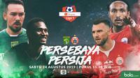 Shopee Liga 1 - Persebaya Surabaya Vs Persija Jakarta Head to Head (Bola.com/Adreanus Titus)