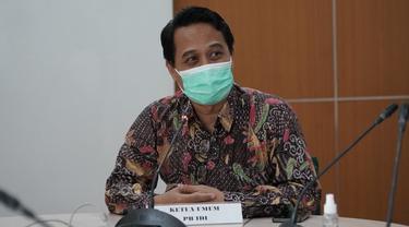 Ketua Umum Pengurus Besar Ikatan Dokter Indonesia (PB IDI) Daeng M Faqih