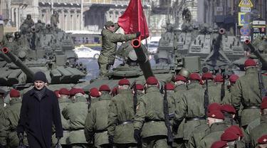 Ilustrasi militer Rusia