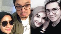 Penampilan Laudya Cynthia Bella-Engku Emran dan Zaskia Sungkar-Irwansyah. (laudyacynthiabella,zaskiasungkar15/instagram)