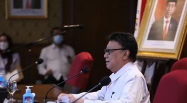 Menteri PANRB Tjahjo Kumolo mengimbau agar aparatur sipil negara (ASN) dapat segera kembali menjalankan tugas dengan maksimal usai libur Idul Fitri. (Dok Kementerian PANRB)