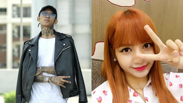 [Bintang] Young Lex dan Lisa Blackpink