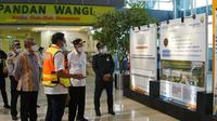 Menteri Perhubungan Budi Karya Sumadi melakukan peninjauan pengembangan bandara di Kalimantan. (Dok Kemenhub)