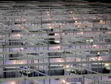 Hong Kong Ubah Pusat Pameran Jadi RS Darurat