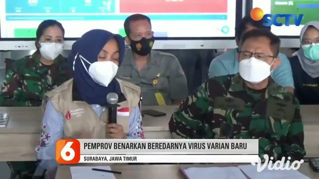 Sebanyak dua pekerja migran yang berasal dari Jember dan Sampang, Jawa Timur, terkonfirmasi terkena virus Covid-19 varian baru. Seorang terjangkit virus varian B117 dari Inggris, sementara yang lainnya varian B1351 dari Afrika Selatan.