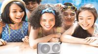 Mengadaptasi cikal bakal model speaker bazzoke tahun 1990-an, Polytron menghadirkan MUZE Bluetooth Speaker untuk anak muda masa kini.