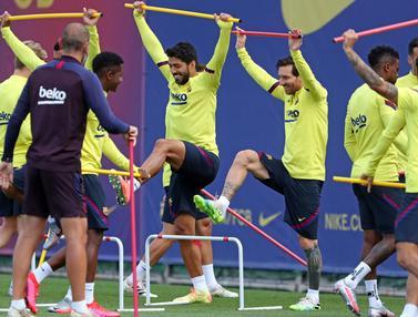 Barcelona Gelar Latihan Jelang Hadapi Mallorca