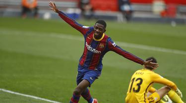 Ousmane Dembele - Barcelona - Liga Spanyol