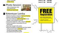 orang muda pekerja seni di kota Kupang, Nusa Tenggara Timur (NTT) menggelar lomba foto Calon Legislatif (Caleg). Lomba ini berhadiah uang tunai jutaan rupiah, yang akan digelar  di Sotis Hotel Kupang