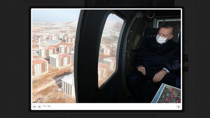 Gambar Tangkapan Layar Foto Erdogan dari Situs tccb.gov.tr