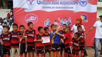 Festival Sepak Bola Garuda Anak Nusantara 2018 diikuti 32 SSB dari Jawa dan Kalimantan. (dok. Festival Sepak Bola Garuda Anak Nusantara 2018)