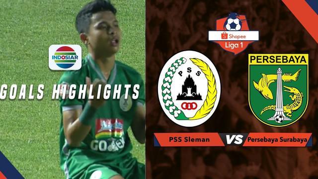 Berita video highlights Shopee Liga 1 2019 antara PSS Sleman vs Persebaya Surabaya yang berakhir dengan skor 2-1, Sabtu (13/7/2019).