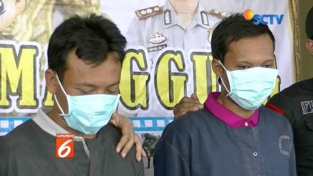 Satreskrim Polres Temanggung berhasil meringkus dua terduga pelaku pembakaran motor milik warga pada pekan lalu. Keduanya mengaku merupakan orang suruhan.