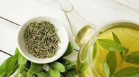 ilustrasi teh hijau/photo By KMNPhoto (Shutterstock)