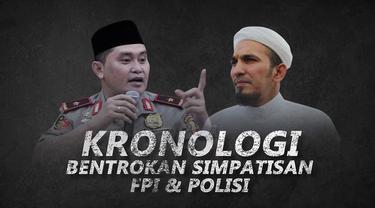 Berikut beda kronologi yang disampaikan kepolisian dan FPI.
