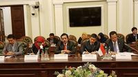 Delegasi MPR mengunjungi Parlemen Ukraina. (KBRI Ukraina)