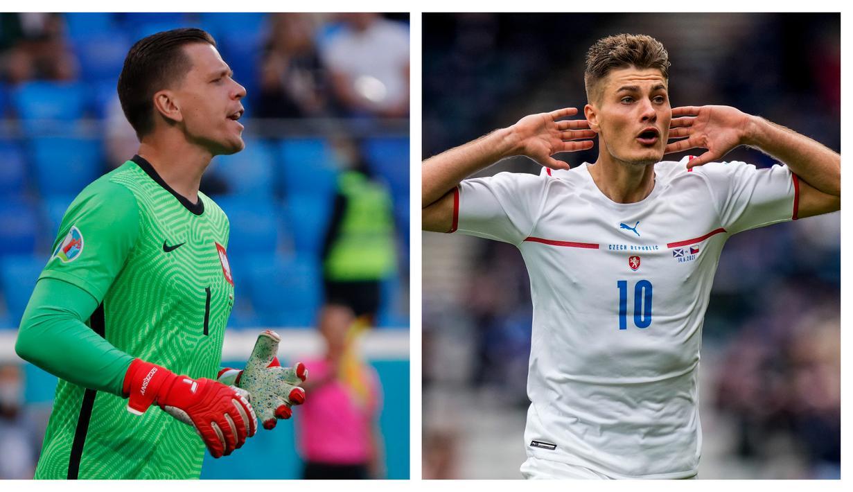 Euro 2020 (Euro 2021) baru menyelesaikan matchday pertama di fase grup. Dari 12 laga yang telah dijalani telah tercipta beberapa rekor istimewa, di antaranya dari megabintang Portugal, Cristiano Ronaldo. Selain Ronaldo, 5 pemain berikut juga sukses mencetak rekor. (Foto: Kolase AP)