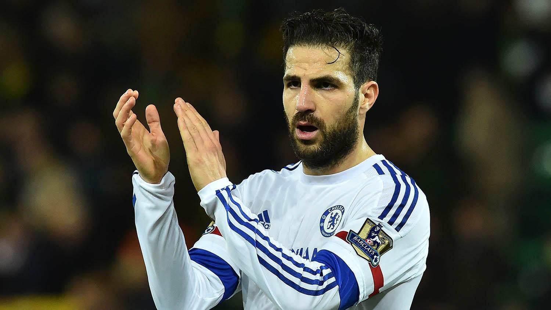 Gelandang Chelsea, Cesc Fabregas (AFP/Ben Stansall)