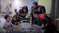 Para bintang Spider-Man: Far From Home hibur pasien RS anak (YouTube/  Children's Hospital Los Angeles)